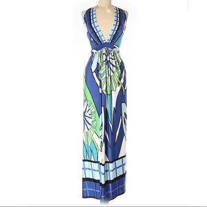 Analili Printed Maxi Dress